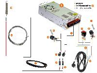 Construction kit CleexCut MD (hot wire polystyrene cutter for wire 0.4K with longitude 0.51 m) - main photo 1017