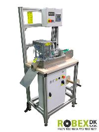 Tie dicing machine DPR 2 - for rubber textile materials and velcro fastener portion - main photo 993