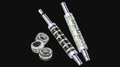 Expanding pneumatic shafts, safety and clamping shafts